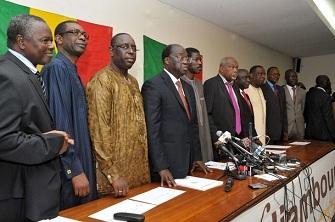 L'opposition sénégalaise mobilisée contre Abdoulaye Wade