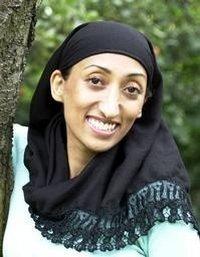 Shazia Mirza, jeune humoriste britannique d'origine pakistanaise...