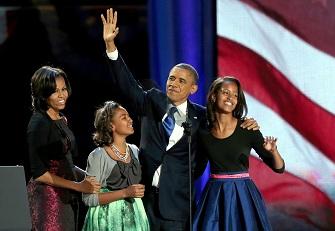 Barack Obama a obtenu son second mandat � la t�te des Etats-Unis