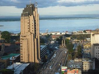 Une vue de Kinshasa