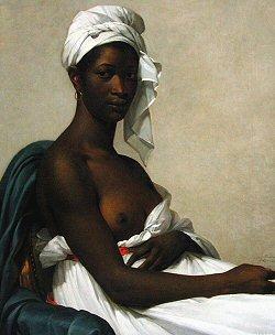 Pas assez claire? Peinture de Marie-Guillemine Benoist en 1800