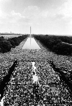 250.000 personnes se sont d�plac�es � Washington