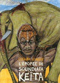 La couverture d'un ouvrage consacr� � Soundjata K��ta