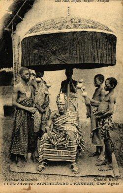 Un roi ivoirien