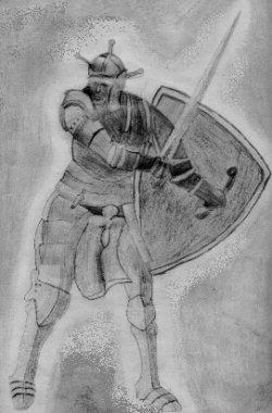 Un chevalier... comme le Chevalier d'Amon