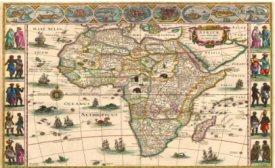 Africae nova descriptio. - W. & J. Blaeu, ca.1634-1664.