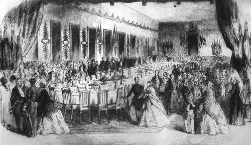 Banquet des Européens de St Louis en 1855