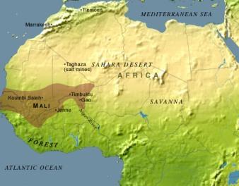 L'empire du Mali au 14ème siècle (metmuseum.org)