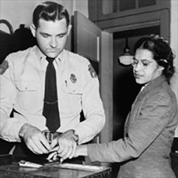 L'arrestation de Rosa Parks