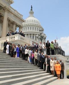 Les membres du Black Caucus