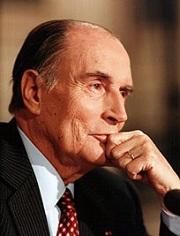 François Mitterrand prononça le discours de La Baule en juin 1990
