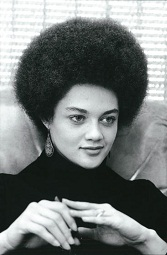 Kathleen Cleaver à l'époque des Black Panthers
