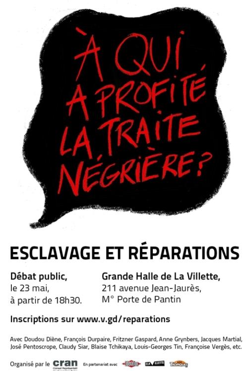 Affiche du débat du 23 Mai