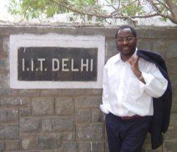 Jacques Bonjawo à l'IIT de New-Delhi