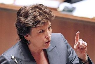 La ministre de la Santé, Roselyne Bachelot