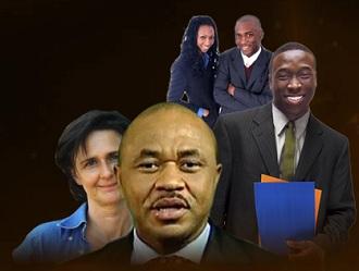 Chris Ngueda et l'équipe de ''l'entrepreneur show''