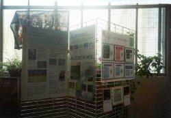 Exposition sur le paludisme � Orl�ans le 25 avril 2001 avec le soutien de l�institut Pasteur