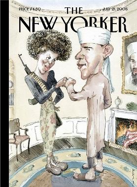 La couverture du ''New Yorker''