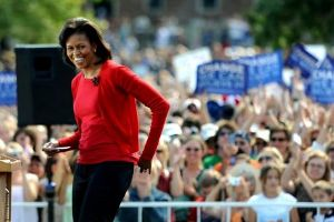Michelle Obama à Boulder dans le Colorado, le 1er octobre.