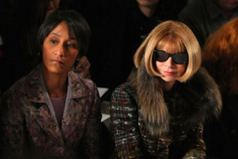 Desiree Rogers et Anna Wintour, directrice de ''Vogue''