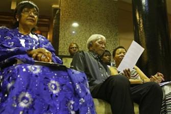 Le 11 février 2010, lors de la célébration des 20 ans de la libération de Nelson Mandela