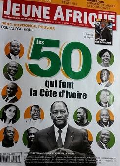 ''Les 50 qui font la Côte d'Ivoire''
