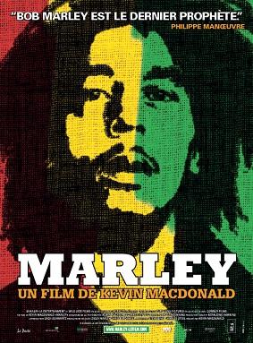 L'affiche de ''Marley'', documentaire de Kevin McDonald