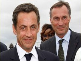 Jean-Marie Bockel et Nicolas Sarkozy