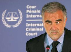 Luis Moreno Ocampo, procureur de la CPI