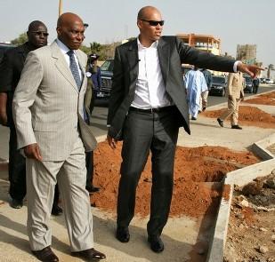 Abdoulaye et Karim Wade