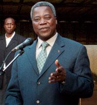 Tertius Zongo, premier ministre