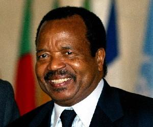 Le président Camerounais Paul Biya