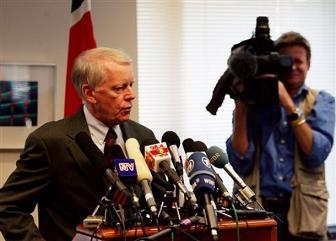 Michael Ranneberger, ambassadeur des Etats-Unis au Kenya
