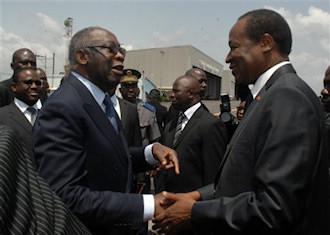 Blaise Compaor� sera � Paris le 14 juillet, mais pas Laurent Gbagbo