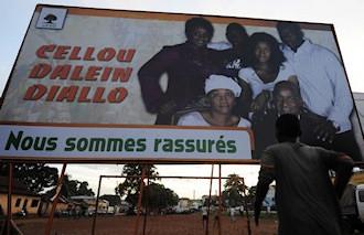Affiche de campagne de Cellou Dallein Diallo