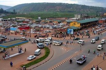 Une vue de Kigali
