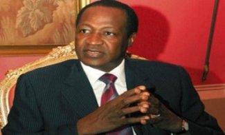 Le président burkinabè Blaise Compaoré