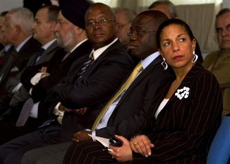Susan Rice, ambassadrice des Usa à l'ONU pourrait remplacer Hillary Clinton