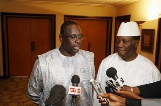 Alassane Ouattara avec Macky Sall ce week-end à Dakar