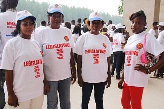 Supportrices du PCT (Parti Congolais du Travail)