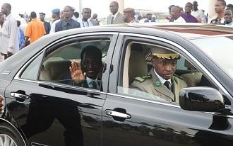 Le président Dioncounda Traoré