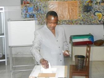 Denis Sassou Nguesso, réélu lors des présidentielles 2016