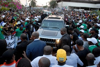 Andre Mba Obame est de retour au Gabon