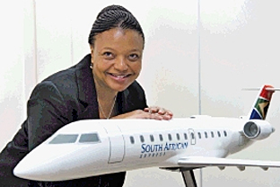 Siza Mzimela a quitté son poste de présidente de South African Airways