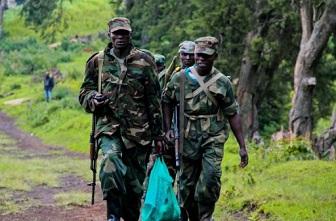 Des membres du M23 en patrouille