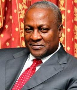 Le pr�sident John Mahama
