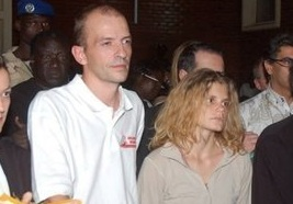 Eric Breteau et sa compagne Emilie Lelouch
