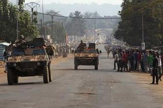 Des chars à Bangui