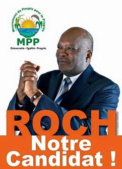 Roch Marc Kaboré est le nouveau président du Burkina