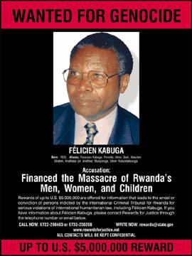 Felicien Kabuga arrêté récemment